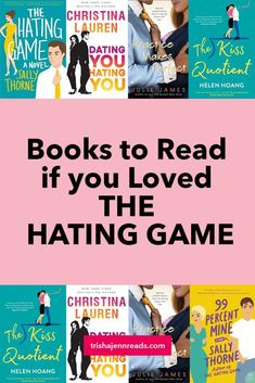 I loved Sally Thorne's contemporary romance novel THE HATING GAME. Here are some other books that give me the same vibe, and the same silly grin. Best Books To Read, Good Books, My Books, The Hating Game, Contemporary Romance Novels, Feminist Books, Books For Teens, Book Boyfriends, Science Books