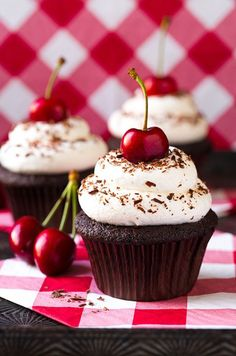Black Forest Cupcakes C1010