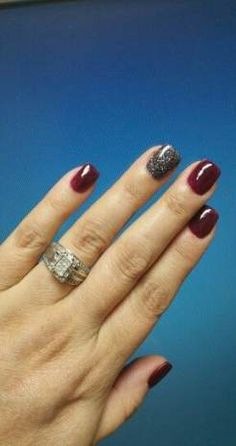 powder nails Nails colors winter nexgen 51 Ideas for 2019 Water Pollution Proble Dark Red Nails, Maroon Nails, Nexgen Nails Colors, Nail Colors, Red Nail Designs, Pretty Nail Designs, Fancy Nails, Pretty Nails, Dipped Nails