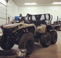 Bad Ass 6X6 Hunting ATV