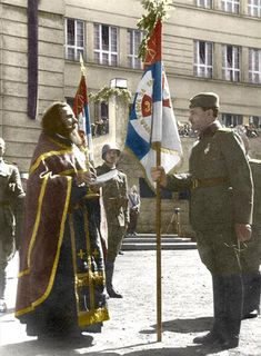 The Serbian Volunteer Corps King Alexander, German Soldiers Ww2, Serbian, Milan, Historia, War, Serbian Language