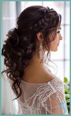Fantastische Hochzeit Frisuren für mittellanges Haar Pinterest ... | Damen Frisuren