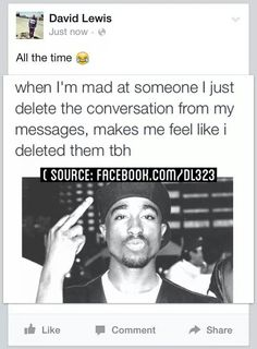 True. Makes me think that it never happened at all. I stop myself from rereading the messages over again and staying/getting mad all over again.