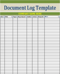 Change Log Template  Logtemplates    Template Logs