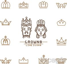 Crown logo vector                                                                                                                                                                                 More