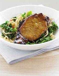 Low FODMAP Recipe and Gluten Free Recipe - Sticky pineapple pork http://www.ibssano.com/low_fodmap_recipe_sticky_pineapple_pork1.html