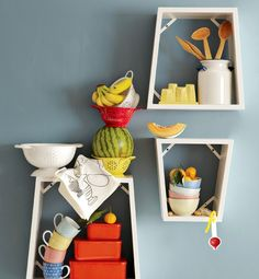 Cute kitchen idea.