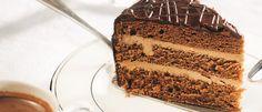 Торт «Прага» с абрикосовым джемом