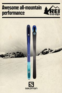 The Women's Salomon QST 92 Lux Skis deliver awesome all-mountain performance—and the confidence to explore new terrain on and off piste. Shop now.