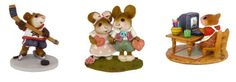 Wee Forest Folk figurines: good for gifts or decoration.