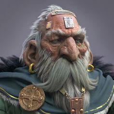 ArtStation - Dwarf master, Farhad Nojumi