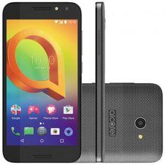 Smartphone Alcatel A3 Dual Chip 5046J Android 6.0 16GB Câmera 8MP Tela 5 << R$ 29990 >>