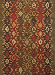 e7d11c1b6db3 Amer Makamani MKM-6 Green Area Rug – Incredible Rugs and Decor Woven Rug,