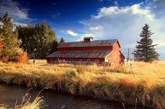 Old Rustic Barn at The Meadows in Idaho Falls, Idaho by fishnwithmike, via Flickr