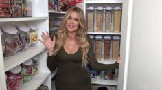 Khloe Kardashian Kitchen Tour - Best Kitchen Organization Ideas