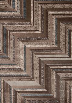 Nourison Soho Mocha Blue Rug - x x - Brown/Blue) - Area Rugs Clearance Rugs, Eclectic Design, Eclectic Style, Interior Design, Geometric Rug, Chevron Rugs, Rectangular Rugs, Carpet Stains, Contemporary Rugs