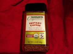 Central Market Organics Instant Coffee - Made From Arabica Coffee Beans - $8.99 - SOLD