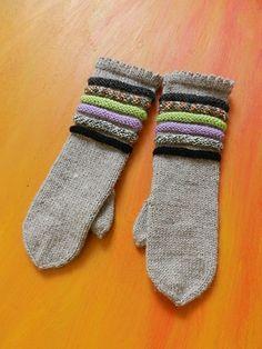 Ravelry: Inkeri-lapaset pattern by Sara Palojärvi Ravelry, Gloves, Socks, Mittens, Wool, Knitting, Crochet, Pattern, Diy Ideas