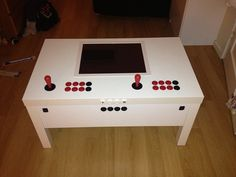 Home › Forums › RetroPie Project › Peoples Projects › My build: IKEA arcade table RetroPie has a new website and forum. Please visit for the new site. The new forum is l…