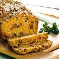 Pão de Minuto Banana Bread, French Toast, Turkey, Meat, Vegetables, Breakfast, Desserts, Food, Finger Food Recipes