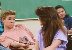 """He can play it cool. 17 Reasons Zack Morris From """"Saved By The Bell"""" Is Unrealistically Perfect Zack Morris, Mark Paul Gosselaar, Are You Being Served, Elizabeth Berkley, Saved By The Bell, Tv Show Quotes, Old Tv, Best Tv, Music Artists"""