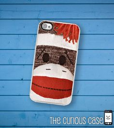 Dude i saw this and thought of you.  iPhone Case Sock Monkey Doll  / Hard Case For iPhone 4 and iPhone 4S Vintage Childrens Toy. $16.99, via Etsy.