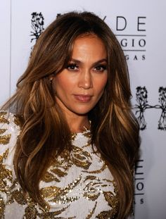 Jennifer Lopez Layered Cut