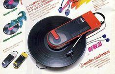 Retro 80s Portable Record Player