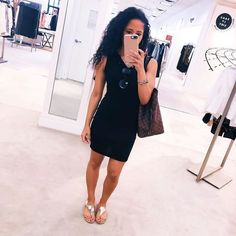 Designer dupes Louie Vuitton dupes Gold accessories #LTKsalealert #LTKitbag #LTKunder50 Fashion Killa, Ootd Fashion, Fashion 2018, Womens Fashion, Black Fashion Bloggers, H Style, Outfit Of The Day, What To Wear, Bodycon Dress