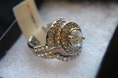 {REVIEW} Fantasy Jewelry Box: Cybill's Antique Style Three Ring CZ Wedding Set (Reg. $ 104.99) -$ 79.95   Closet of Free Samples