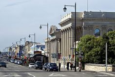 Thames Street, Oamaru, NZ - can't wait to go beach to NZ and see the family again.