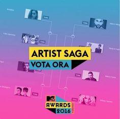 Spettacoli: #Mtv #Awards #2016  Artist Saga-turno 3: in gara Marco Carta  Marco Mengoni  Annalisa... (link: http://ift.tt/1UiScC3 )