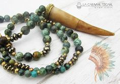 find us here-> https://lacaravanetzigane.com/ Boho jewelry on La CaravaneTzigane store !!  Some beautiful gemstone beaded necklaces and bracelets, earrings, with arrow stone or tusk pendant.  Gypsy chic notes for stacking bracelets with tassel, Buddha, Hamsa hand ... little idea for Christmas, birthday, friendship or mothers day gift. Tribal Tibetan notes in this collection to see on Lacaravanetzigane.etsy.com