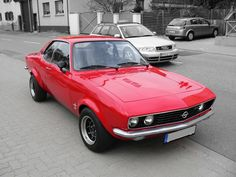Opel Manta A in perfect condition