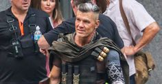 Deadpool Ryan Reynolds Gives First Look at Josh Brolin's Cable Nathan Summers Cable, Cable Marvel, Zazie Beetz, Josh Brolin, Moon Knight, Ryan Reynolds, Silver Surfer, Iron Fist, My Spirit Animal