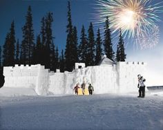 Every year, Keystone builds a new Snow Fort at the top of Dercum Mountain with new features & fun. It's become a highlight for kids of all ages (me included) & part of the kids Kidtpia festival.