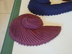 Cockades - Candace Kling #millinery #judithm #ribbonwork
