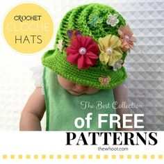 Crochet Cloche Hats Free Patterns The WHOot
