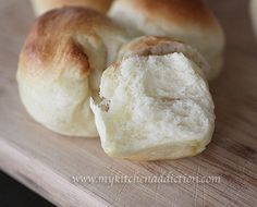 Light and Soft Dinner Rolls | my kitchen addiction