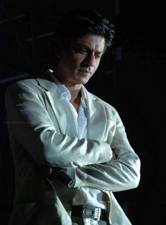 Shahrukh deep in thought
