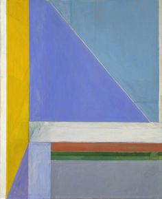 Richard Diebenkorn. i made a recreation of this one back in art school