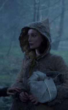 Outlander - Claire's friend known as 'the witch', another time traveler
