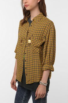 Oversized Flannel, Urban Outfitters.