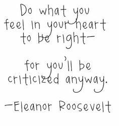 eleanor roosevelt quote | Tumblr