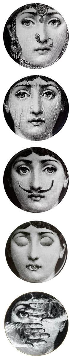 Fornasetti made Lina Cavalieri the original cindy sherman
