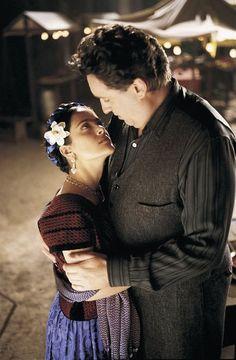 Still of Salma Hayek and Alfred Molina in Frida (2002)