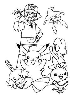Die 125 Besten Bilder Von Pokemon Pokemon Birthday Coloring Books