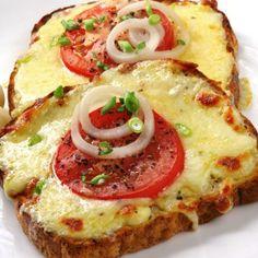 cheese & tomato bread