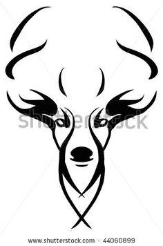 Deer Design Stock Vector 44060899 Shutterstock