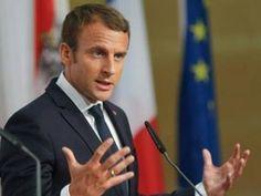 Macron'dan Türkiye'ye basın özgürlüğü eleştirisi